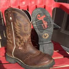 womens justin boots size 9 justin s boot country outfitter 89 95 closet