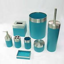 Brown Bathroom Accessories by Turquoise And Brown Bathroom Accessories Teal Bathroom
