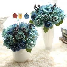 artificial bundle flower for home bedroom decoration wedding