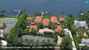 the 8 acre oceanfront estate is made up of four buildings
