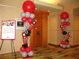 creative ohio buckeyes balloon decorations ohio state