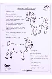 farm animal worksheet this worksheet is designed to teach the