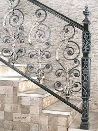 Iron Grill Design For Stairs Impressive Iron Grill Design For Stairs Staircase Grill Designs