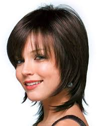 hairstyles lond front short back with bangs bob hairstyles long in front short in back short angled bob hairstyle
