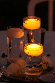 Dollar Cylinder Vases Anyone Did Floating Water Candle With Vases As Their Centerpieces