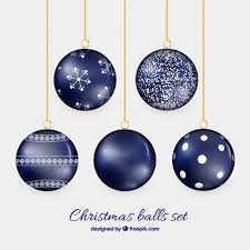 balls in navy blue color vector free