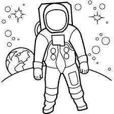 astronaut coloring page an astronaut doing a space walk on the orbit coloring page an