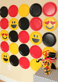 diy emoji photobooth backdrop backdrops and spaces