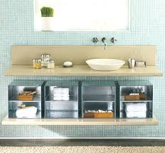 bathroom storage bathroom under sink storage modern under the