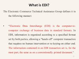 chapter 3 electronic data interchange introduction standards and