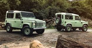 land rover defender 2015 4 door rover defender final year of production kicks off with special