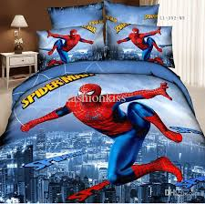 best quality wholesale spiderman bedding set 3d oil painting 100