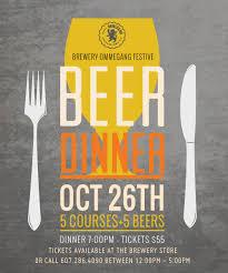October Dinner Ideas Festive Menu Slated For Café Ommegang Beer Dinner U2013 October 26