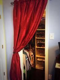 Replace Sliding Closet Doors With Curtains Best Closet Door Ideas To Spruce Up Your Room Closet Doors