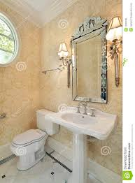 Media Room Sconces Powder Room With Sconces Royalty Free Stock Images Image 12662569