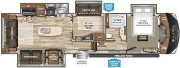 100 5th wheel toy hauler floor plans keystone montana high