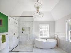spa inspired bathroom ideas 6 monochromatic bathrooms designs you ll hgtv s decorating