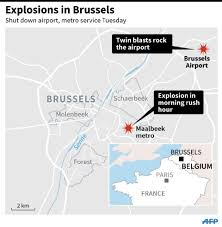 belgium subway map at least 34 dead as blasts hit brussels airport subway station