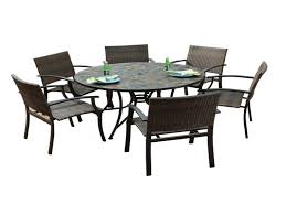 slate outdoor dining table round patio dining table elegant round patio dining table round