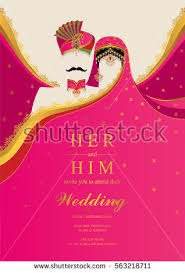 indian wedding invites indian wedding invitation card templates gold stock vector