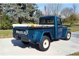 willys jeep truck interior 1955 willys jeep for sale classiccars com cc 1047349