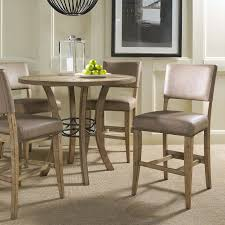 Shop Dining Room Sets Hillsdale Cameron 5 Piece Counter Height Round Wood Dining Table