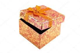 metallic gift box open orange metallic gift box stock photo massimovernicesole