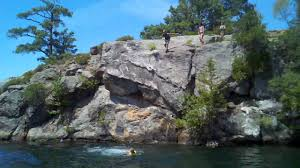 cliff jumping thousand islands part 2 youtube