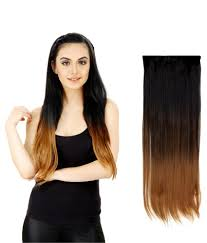 gg extensions out of box highlighted bottom synthetic hair extension