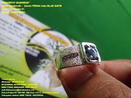 model cincin blue safir cincin perak batu blue safir model minimalis 01