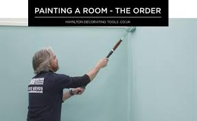 is paint any what order should you follow when painting a room