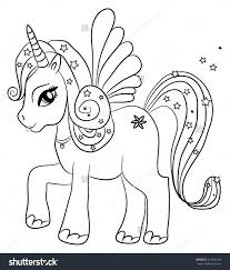 Unicorn Coloring Pages For Kids Funycoloring Unicorn Coloring