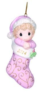 precious moments company dated 2014 baby ornament