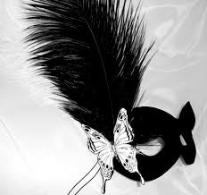 black and white masquerade mask burlesque style masquerade black white mask with genuine leather