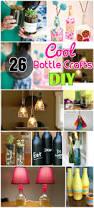 diy 26 attractive u0026 cool bottle crafts easy glass bottle crafts