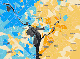 New Orleans Safety Map by Data Maps Show The Stark Income Inequality Divide In Cities