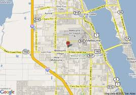 melbourne fl map map of melbourne florida my