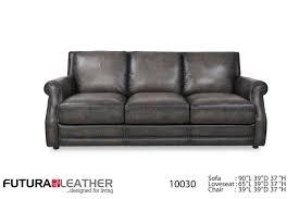 Charcoal Living Room Furniture Futura Leather Fusion Fusion Charcoal Leather Sofa Great