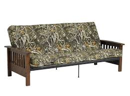 dhp furniture 6 inch realtree max 5 poly filled full size futon