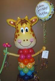 balloon delivery tulsa 3 5ft giraffe balloon character