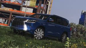 lexus minivan 2016 lexus lx 570 add on replace gta5 mods com
