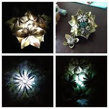 Chandelier Centerpieces Kusudama Light Chandelier Centerpiece 29 Steps With Pictures