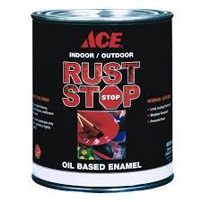 ace rust stop interior satin dark bronze rust stop enamel paint