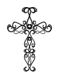 cross with roses coloring pages coloring online fancy cross