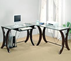 clear glass base table l clear offide desk coco furniture gallery furnishing dreams