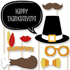 thanksgiving photo booth props give thanks thanksgiving party 20 photo booth props kit