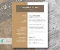 Free Resume Template Australia by Caf礬 Au Lait A Free Resume Template With A Creative Touch