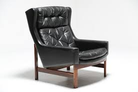 Danish Leather Armchair Danish Highback Leather Chair Mid Century Furniture The Hastac 2011