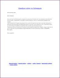 letter farewell letter