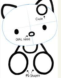 draw kitty step step kawaii
